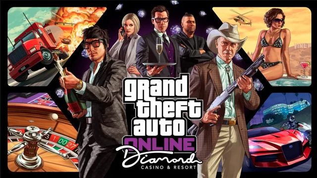 GTA: Online, porte aperte al Diamond Casino & Resort