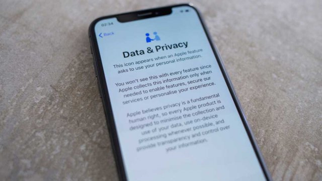 Privacy iPhone