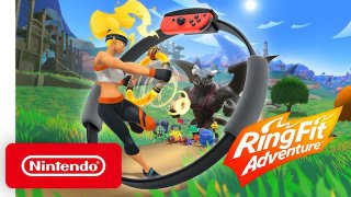 Ring Fit Adventure è ora disponibile per Switch
