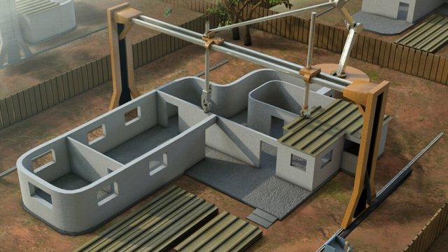 La stampante 3d che pu stampare una casa di 230 metri quadri fastweb - Calcolare metri quadri casa ...
