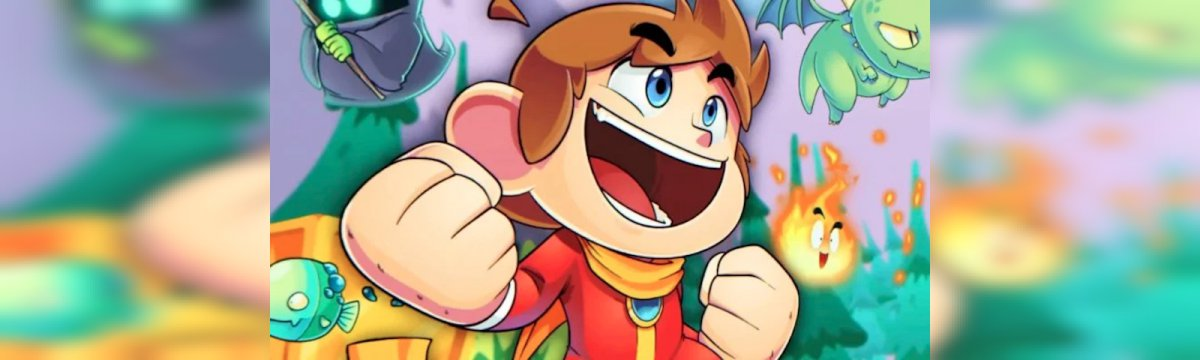 Alex Kidd in Miracle World DX in arrivo a giugno su Steam