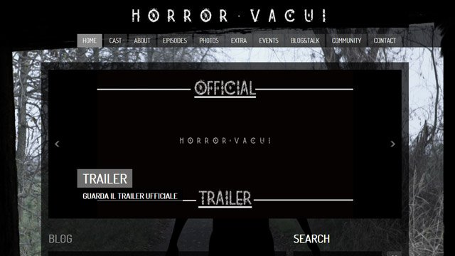 Horror vacui – The Beginning
