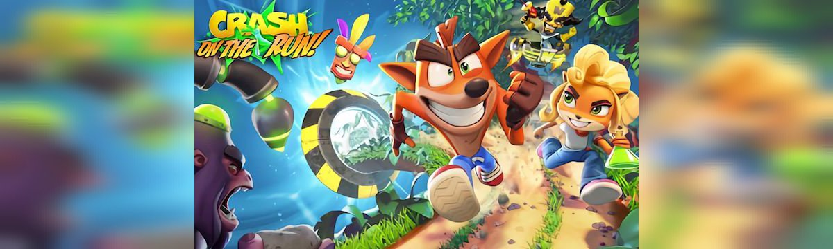 Crash Bandicoot arriva su iOS e Android