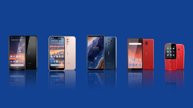 smartphone nokia mobile world congress 2019