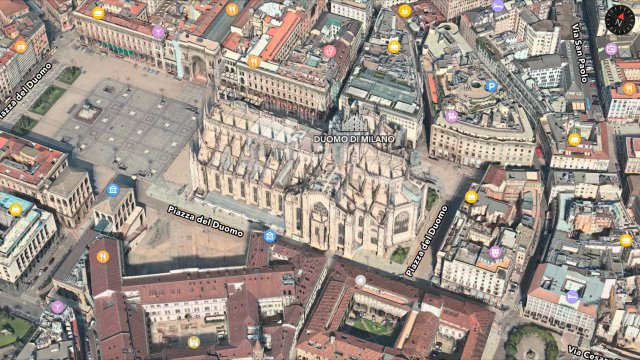 Flyover Apple Maps