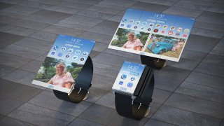 IBM smartwatch tablet