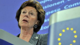 La commissaria Ue all'agenda digitale Neelie Kroes