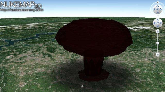 Nukemap3d il simulatore di esplosioni nucleari fastweb for Simulatore di costruzione di case online