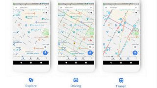 Nuovo design per Google Maps